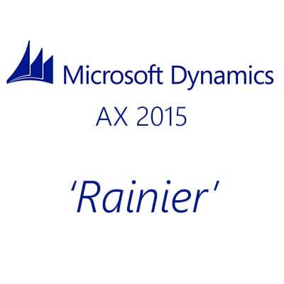 Microsoft Dynamics AX 2015 Rainier