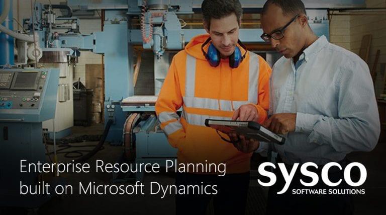 Microsoft Dynamics ERP for SMB